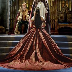 """""""The CW's historical-fiction drama Reign, loosely based on the rise of Mary, Queen of Scots, puts a contemporary spin on 16th Century garb. Read our…"""""""
