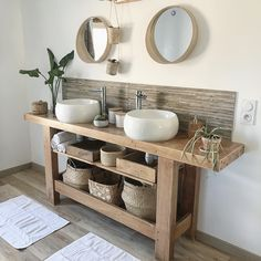 Idea, tactics, plus resource beneficial to obtaining the very best result as well as making the max utilization of Bathroom Shelf Pretty Bathrooms, Bathroom Inspiration, Bathroom Decor, Bathrooms Remodel, Rustic Bathroom Designs, Rustic Bathroom Vanities, Home Decor, Cottage Bathroom, Bathroom Design