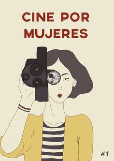 ilustración para la zine argentina Cine por Mujeres