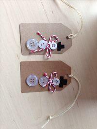My Christmas tags, snowmen- how cute!!!!