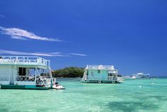 Boats that are floating houses in La Parguera, Puerto Rico. #meetpuertorico #WHYHB