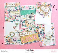 Inspirationsgalerie - Karten Werkstatt - Scrapbook Werkstatt - 6 auf einen Streich von Julia Klein
