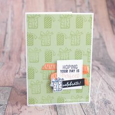 Papercraft by Jennifer Frost: January CASE Challenge, The Crafty Carrot Collective - SU - Weather Together stamp set.