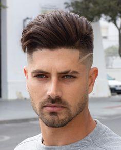 Skin fade haircut with infinite line. EEVOY # Braids hairlook rock Skin Fade w/ Infinite Line # Braids hairlook men Cool Hairstyles For Men, Cool Haircuts, Hairstyles Haircuts, Haircuts For Men, Drawing Hairstyles, Trending Haircuts, Hairstyle Ideas, Haircut For Square Face, Square Face Hairstyles
