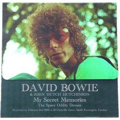 David Bowie & John Hutch Hutchinson - My Secret Memories (The Space Oddity Demos) (LP, Album, Ltd, Num, Unofficial) 2016