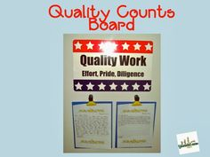 Quality Counts Board