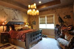 Cowboy Bedroom-RSVP Design Services