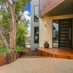 Beautiful mix of natural colours and materials by @watersonbuildersdesign. Scyon cladding can be seen here around the windows. Great work guys #architecture #australianarchitecture #scyonwalls #exterior #exteriordesign
