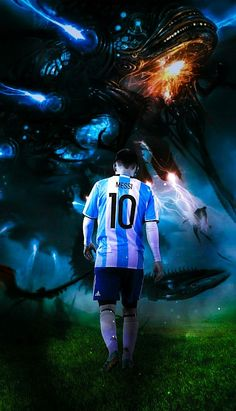 """Lionel Andrés """"Leo"""" Messi is an Argentine professional footballer who plays as a forward for Spanish club FC Barcelona and the Argentina national team. Wikipedia Born: 24 June 1987 (age 30), Rosario, Argentina Height: 1.7 m Spouse: Antonella Roccuzzo (m. 2017) Salary: 40 million EUR (2016) Children: Thiago Messi, Mateo Messi Did you know: Lionel Messi has the most goals scored (5) in the FIFA Club World Cup. Messi Y Neymar, Messi Soccer, Messi 10, Leonel Messi, Good Soccer Players, Football Players, Lionel Messi Family, Antonella Roccuzzo, Messi Argentina"""