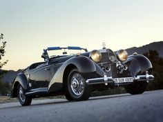 1939 Mercedes Benz 540K Special Roadster | WallpaperUP