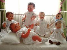 jeanne,françois ,louis,juliette,charlotte,zoé...los reborns de ontem-!!!!