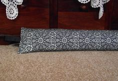 Draught Excluder heavy weight 1.9 kg Buckwheat by sewverrychic