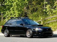 SICK WRX Wago, nice rims, nice stance, nice roof rack. Job well done.