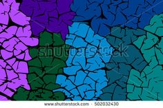 Colored stones. Grunge texture. Vector abstract background.