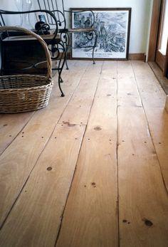 "Eastern White Pine 6"" Flooring - Tongue & Groove - Hand Scraped Finish | Carlisle Flooring"
