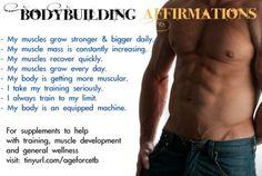 Bodybuilding Affirmations