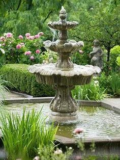 Lovely fountain