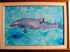 MY ART WORK-FRIEND OF PEOPLE-OIL ON CANVAS