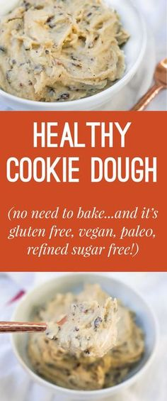 This seems too good to be true! Healthy cookie dough is a must-try.