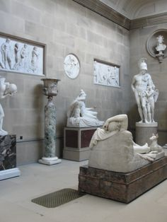 Chatsworth House sculpture room, Derbyshire