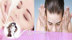 Higiene facial - Limpiar antes de maquillar.