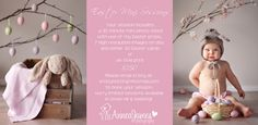 Easter Mini Sessions – Swan Hill Baby Photographer { AnneaJames Photography} » Kristy Notting Photography