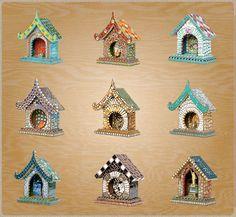 Susan Wechsler Spirit Houses
