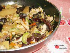 Cinco sentidos na cozinha: Tiras de peru salteadas com legumes no wok