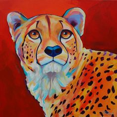 Original Cheetah Giclee PRINT - By Corina St. Martin