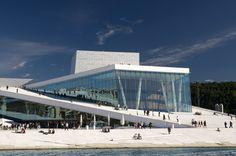 Oslo Opera House.