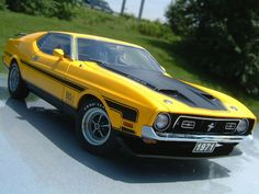 1971 Ford Mustang Mach 1 351 Fastback.