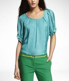 Summer Shopping Spree: RUFFLED DOLMAN SLEEVE TOP by EXPRESS