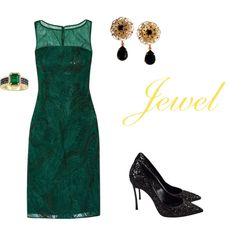 Jewel by iris-belle on Polyvore featuring Mikael Aghal, Casadei, Dolce & Gabbana