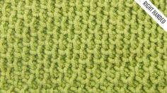 The Tire Tread Stitch:: Tunisian Crochet Stitch #11 :: Right Handed