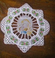 Di tutto un po'... bijoux, uncinetto, ricamo, maglia... ღ by tesselleelle ღ : Trine....su pergamena!