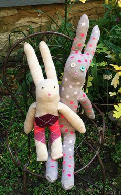DIY Sock Bunny Rabbit