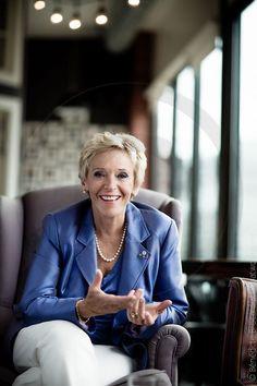executive woman portrait