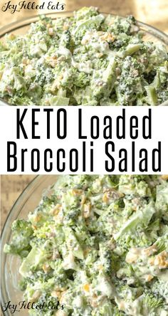 This Easy Broccoli Salad with Bacon is a summer favorite in my house. It is cool quick and easy. Low Carb Keto Gluten-Free Grain-Free THM S. Ketogenic Recipes, Low Carb Recipes, Diet Recipes, Easy Broccoli Salad, Low Carb Side Dishes, Keto Dinner, Low Carb Keto, Grain Free, Gluten Free
