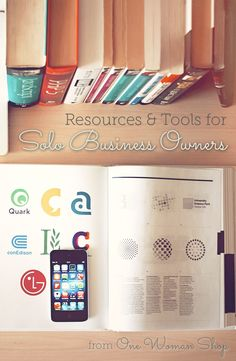 Resources  tools for solo business owners #solopreneur  #freelancing #onewomanshop #solobusiness