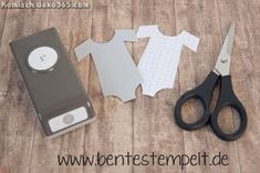 Anleitung Tutorial Baby Body - Stampin' Up! by Bente Stempelt - Make Up Stampin Up Anleitung, Stampin Up Karten, Karten Diy, Punch Art Cards, Paper Punch, Craft Punches, Envelope Punch Board, Baby Hacks, Baby Tips