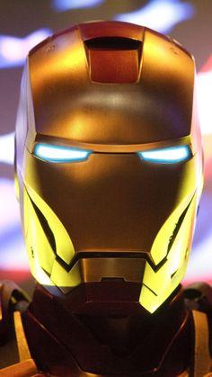 Iron man, suit, helmet, 2018, 720x1280 wallpaper