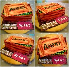 Ammo cake and video https://youtu.be/PRftJ4VtN0g