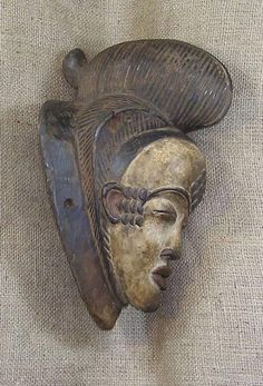 African Masks - Punu Mask 29 - Right - Click for a more detailed view of this African Mask.