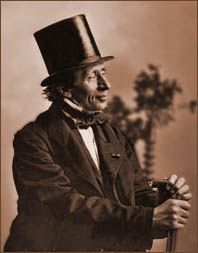 Hans Christian Anderson; Author of The Little Mermaid, The Snow Queen, The Emperor's new clothes and The Little Matchstick Girl.