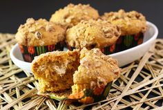 Pumpkin Muffins With a Cream Cheese Filling: Pumpkin Cream Cheese Muffins