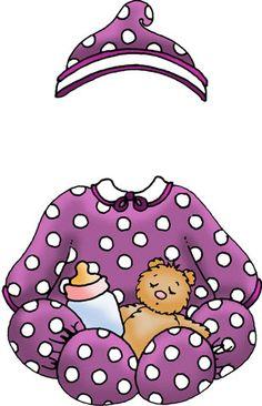 Láminas Infantiles y para Adolescentes (pág. 141) | Aprender manualidades es facilisimo.com Baby Girl Clipart, Welcome Baby Boys, Pajama Day, Craft Images, Paper Dolls Printable, Dollhouse Kits, Box Patterns, Vintage Paper Dolls, Retro Toys