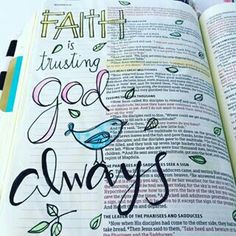 Matthew- Bible Journaling