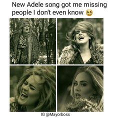 """Adele memes are the best!! """"hello"""""""