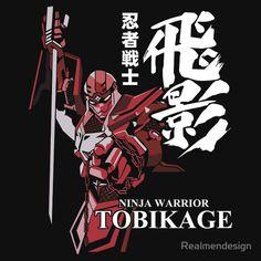 NINJA WARRIOR ROBOT TOBIKAGE CLASSIC JAPAN MECHA ANIME