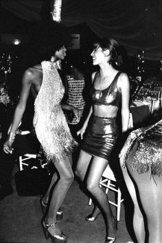Naomi Campbell et Christy Turlington, mannequins 90